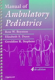 Manual Of Ambulatory Pediatrics, 4/E