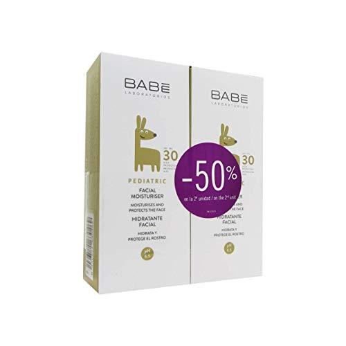 30 Feuchtigkeitscreme (Babe Pediatric Gesichts Feuchtigkeitscreme Spf 30 2x50ml)