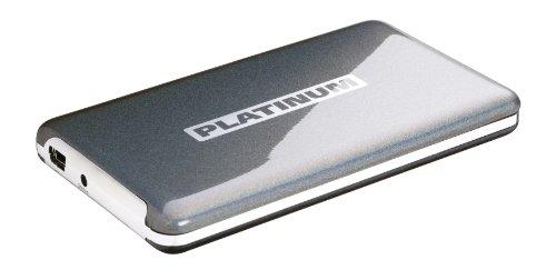 Platinum MyDrive externe Festplatte 6,4 cm (2,5 Zoll) 500GB HDD USB 2.0 andromeda silber metallic Lackierung