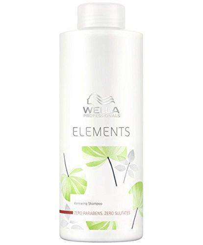 Trockene Spröde Haare (Wella Elements sulfatfreies Shampoo 1 x 1000 ml für trockenes-sprödes Haar Professionals Care)