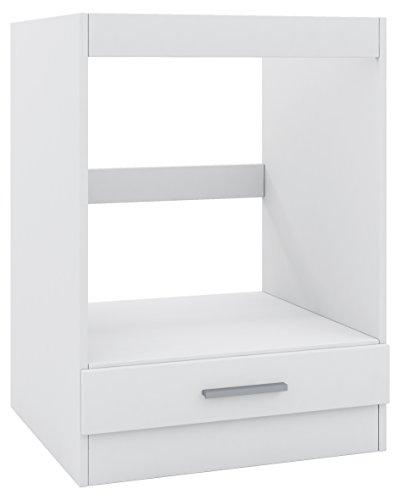 Mobile per armadio, per forno ad incasso, 60cm, Bianco