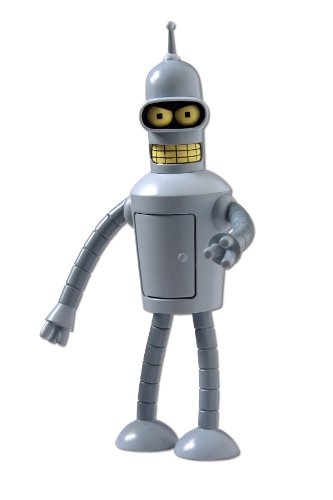 Futurama Talking Bender Actionfigur (Bender Futurama Figur)