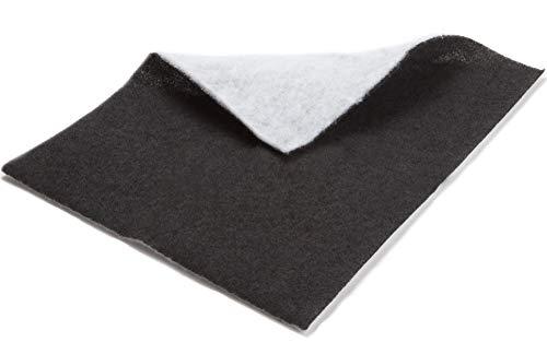 Filter 2-lagig bestehend aus Vliesfilter und Aktivkohlefilter gegen Fett und Geruch für Dunstabzugshaube Abzugshaube Dunstabzug - Universal Fettfilter zuschneidbar 47 x 57 cm