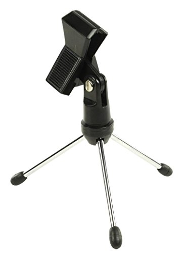 inveror-table-top-microphone-stand-with-3-foldable-metal-legs-and-microphone-clamp-suits-most-standa
