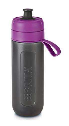 Brita 072278 Botella con Filtro de Agua 0.6L Negro, Púrpura Filtro de Agua 072278, 80 mm, 76 mm, 255 mm, 160 g