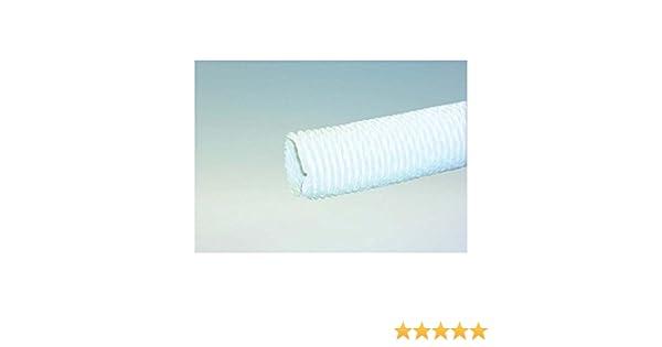 Dunstabzugsschlauch m in weiß für mm durchmesser leichte