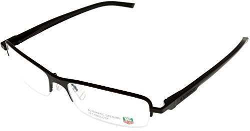d92e7a3d0aa Tag Heuer Eyeglasses Frame Unisex Brown Automatic TH0824 003 Semi- Rimless