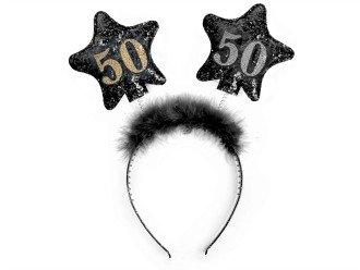 Diademas 50cumpleaños pelo banda Party