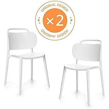 Bistrot Empilable Chaise Chaises A Manger Lot De Design Salle Suhu 2 SpzMqUV