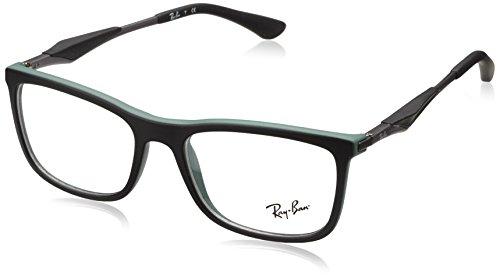 Ray-Ban Herren Brillengestelle 0RX 7029 5197 53, Schwarz (Negro)