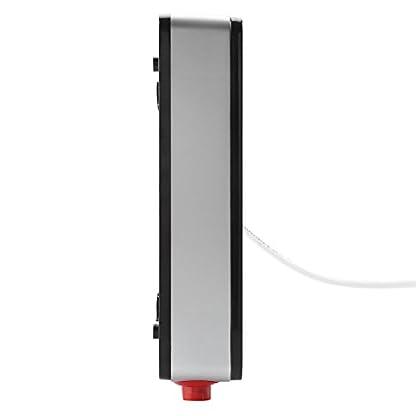 Huakii Calentador de Agua instantáneo, Calentador de Agua Caliente eléctrico sin Tanque de 220V 6500W para Ducha de baño