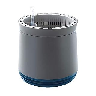 AIRY - Hochwirksame Luftreinigung mit Zimmerpflanzen in steingrau (Space Blue - blau)