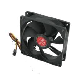 Nilox Case Fan 120mm - computer cooling components (12.80 dB, Black, 95 g, 120 x 120 x 25 mm, 1200 RPM)