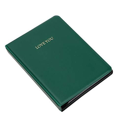 whall-fall Fotoalbum, 64 Taschen, für Mini-Filme, 8 Mini-Fotoalben, 7,6 cm, grün, Einheitsgröße -