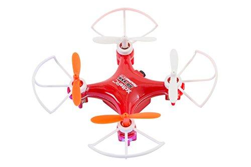XciteRC 15007200 - Ferngesteuerter RC Quadrocopter Rocket 55XXS 3D 4-Kanal RTF Drohne, rot (Rocket Drohne)