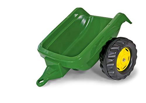 Rolly Toys 121748 - rollyKid Trailer Anhänger Kinderfahrzeuge (Alter 2,5-10 Jahre, belastbar bis 15 kg, Einachsanhänger)