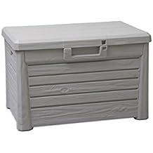Toomax Compact Florida - Baúl, color gris