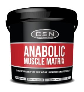HSN 4Kg Anabolic Muscle Matrix Berries and Cream Powder by HSN