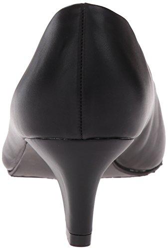 Soft Style Hush Puppies Womens Gail Dress Pump Black Leather