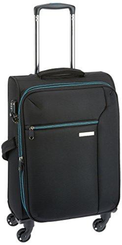 7fb004b41027 Princeware Aerolite Nylon 76 Cms Black Softsided Suitcase (6679 - BK ...