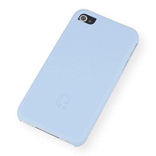 QIOTTI QX-C-0920-02-IP4 Q.Snap Curves für Apple iPhone 4/4S hellblau