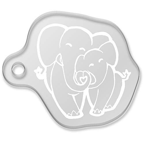 Azeeda 'Amor Elefantes' Llavero (AK00054517)