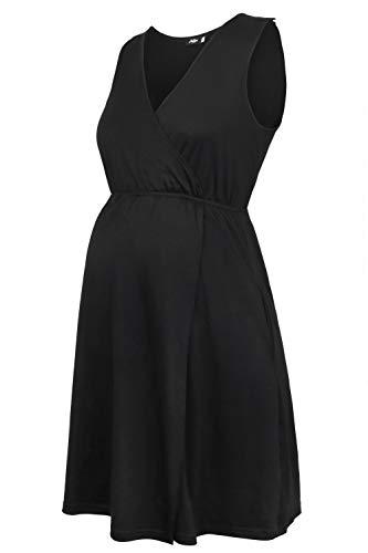 Molliya Damen Umstandskleid Schwangerschaftskleider Schwangere Stillnachthemd Ärmellos Zum Stillen Nachthemd