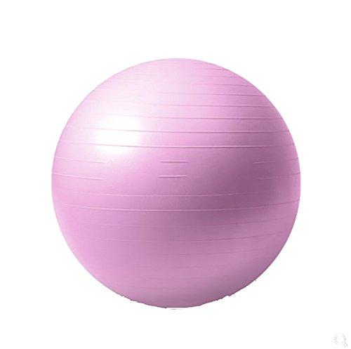 RUIX Gymnastikball (Berstsicher, Fitness-Ball, Sitzball, Yogaball, Pilates-Ball, Balance),Red