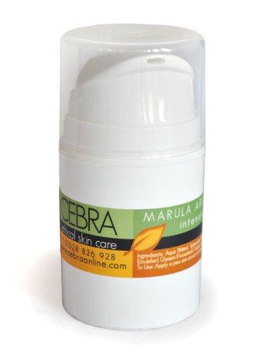 Cebra Ethical Skincare Marula Argan Crème pour le visage – 50 ml – Peaux Sèches, peaux sèches – ridules – Peaux Mixtes – équilibrant, apaisant, hydratant – Pénètre rapidement – avec huile d'argan bio et de marula