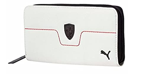 Puma Ferrari LS Women's Wallet (074208 03) (Puma White) (One Size)