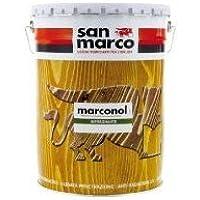 San Marco MARCONOL Impregnante Protettivo colorante per legno esposto all'esterno, colore: Incolore, size: 1 lt