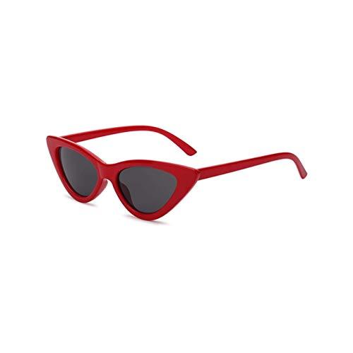 Jeewly Klassische Sportsonnenbrille, Sunglasses Women Vintag Cat Eye Leopard Print Ladiese Cool MultiEyewear Uv400