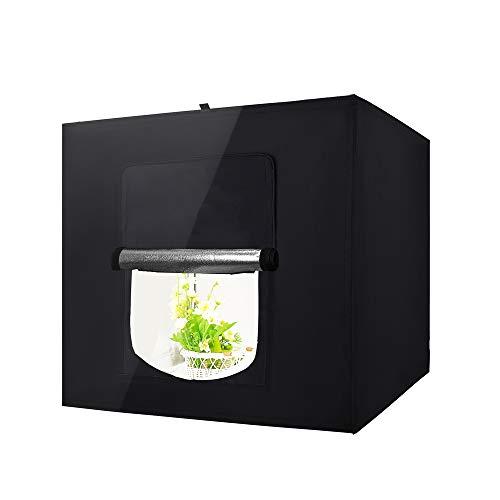 Epower Studio 40x40x40cm Lichtwürfel LED Profi Fotografie Lichtzelt