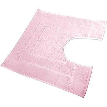 rose Dreamscene Uni Teinture Tapis de bain et contour WC