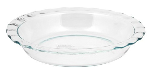 World Kitchen-pyrex/corelle 1085800 Pyrex Easy Grab Glass Pie Plate - 9.5 by World Kitchen