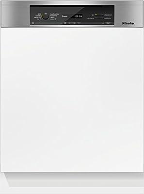 Miele G6840 SCi D BW230 2,0 - Lavavajillas, parcialmente integrable, A+++, 189kWh, 14Mgd, QuickPowerWash, sencilla comunicación Edelstahl CleanSteel