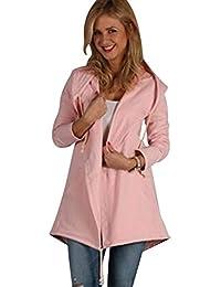638a7bba Amazon.co.uk: ISSHE - Hoodies / Hoodies & Sweatshirts: Clothing