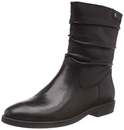 Tamaris Damen 25014-21 Stiefeletten, Schwarz (Black 1), 40 EU