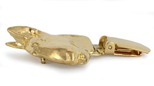 Bullterrier, Gold Feingehalt 999 Hund, Hund clipring, Hundeausstellung Ringclip/Rufnummerninhaber, limitierte Auflage, Artdog - 3