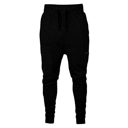 Herren Jogginghosen - Slim Fit Trainingshose Sporthose Super Weich Bequem Moderne Stoffhose Sweatpants für Jogger Männer (Sport-slim-fit-hose Männer Für)