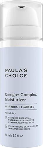 Paula's Choice Omega + Crema da Notte | Crema Idratante e Nutriente per il Viso | con Burro di Karitè e Ceramidi | Pelli Normali o Secche | 50 ml