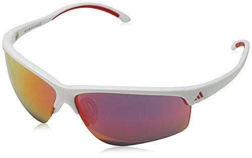 Adidas adivista occhiali da sole, uomo, 0a164, bianco, taglia unica