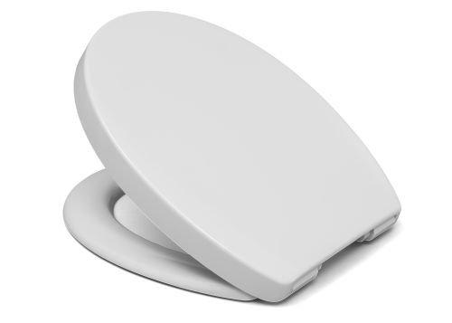 Cedo WC Sitz Blue Beach, weiß, Toilettensitz Absenkautomatik, umschließender Toilettendeckel