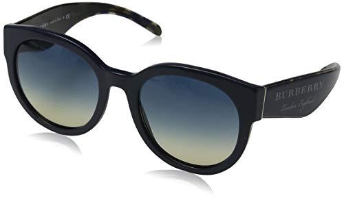 BURBERRY Damen 0BE4260 369079 54 Sonnenbrille, Blau (Bluette/Yellowgradientbluee),