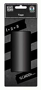 Ursus 42820000Pizarra Protectores Tape, Negro Mate, Aprox. 100mm x 5m