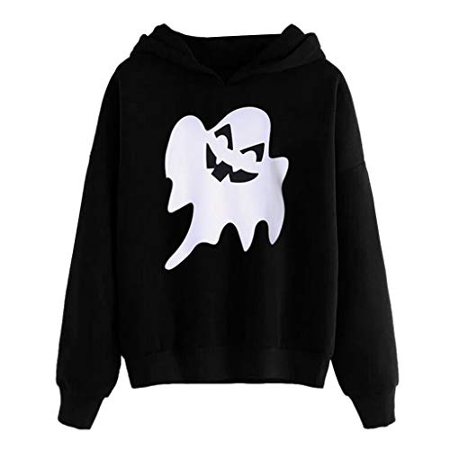 Vegan Vampir Kostüm - Deep lovly Dame Halloween 3D Print Langarm Hoodie Junge Vampire Print Long Sleeve Schulmädchen Party Frauen Sweatshirt Herbst WinterDigital lässig uniform Horror-Druck-Partei-Lange Hülsen-Pullover
