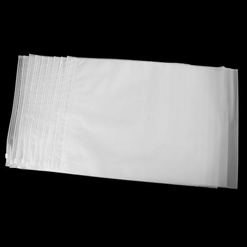 Gazechimp Set de 10 Piezas Bolsa de Almacenamiento de Ropa Bolsas de Organizador de Equipaje para Viaje Helada Mate Bolsa Sellada Impermeable Duradero de Ziplock - 35x45cm