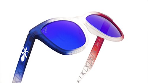 Gafas de sol Polarizadas Negra 2018 Para Hombre/Mujer 100% UV Protección Goma Moda (Francia)