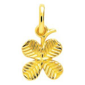 so-chic-bijoux-c-pendentif-trefle-4-feuilles-porte-bonheur-chance-rainure-or-jaune-750-000-18-carats