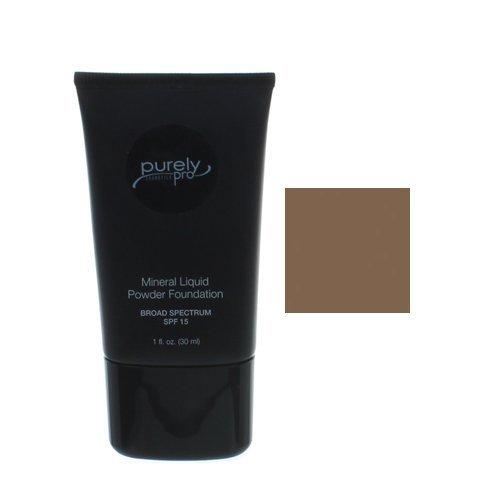 Purely Pro Cosmetics Liquid Powder, Espresso, 0.0010 Ounce by Purely Pro Cosmetics